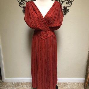 Gauzy Grecian dress